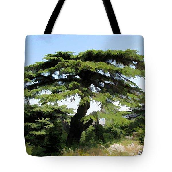 Do-00511 Cedar Forest Tote Bag