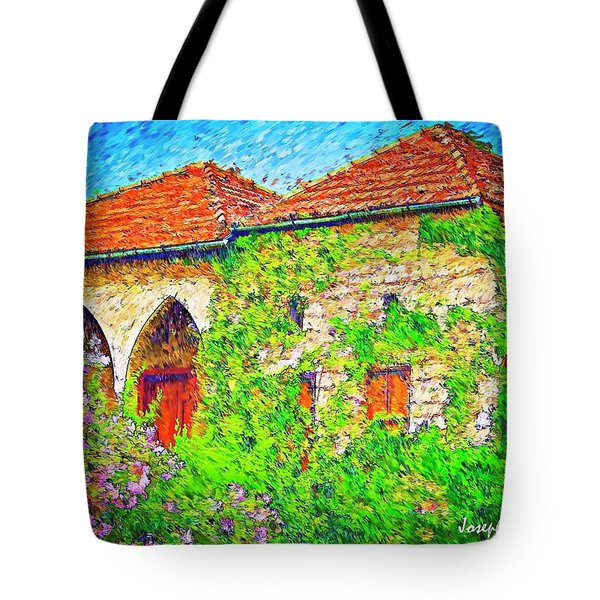 Tote Bag featuring the photograph Do-00530 Old House by Digital Oil