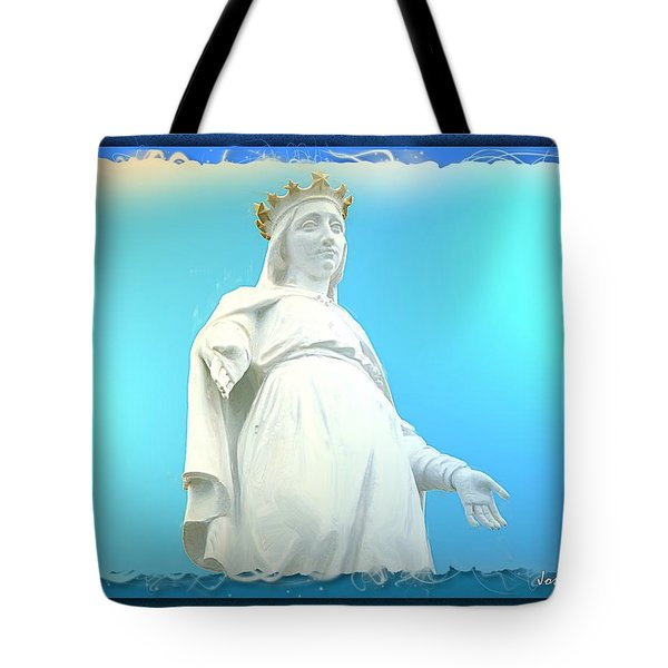 Do-00531 Our Lady Of Lebanon Tote Bag by Digital Oil
