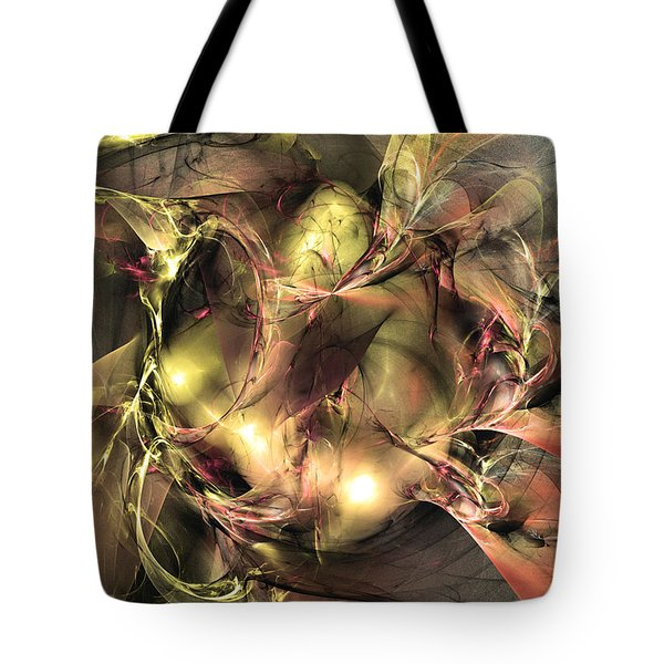 Do Not Touch -abstract Art Tote Bag