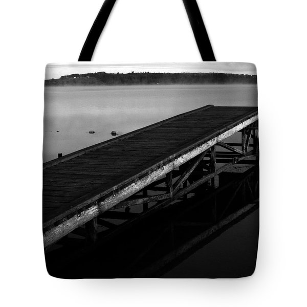 Dock Tote Bag by Jerry Cordeiro