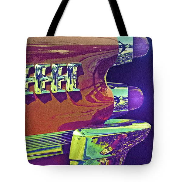 Dodge Custom Royal Tote Bag by Gwyn Newcombe