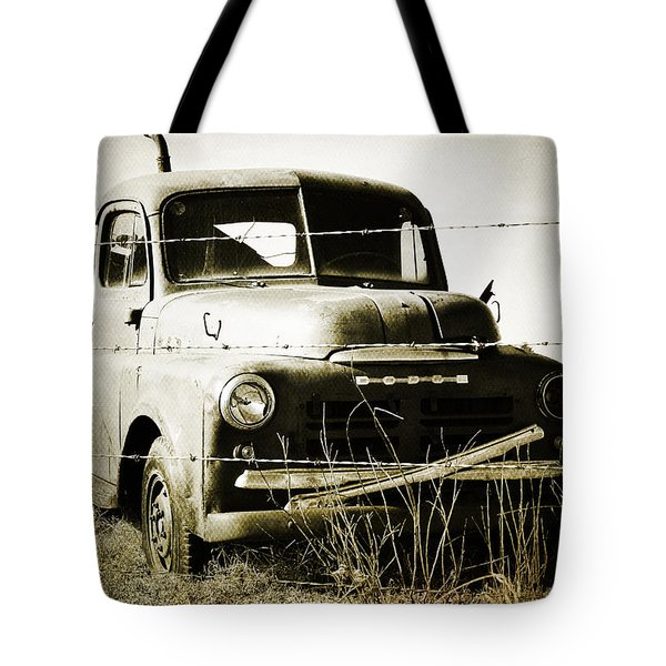 Dodging The Wires  Tote Bag by Empty Wall