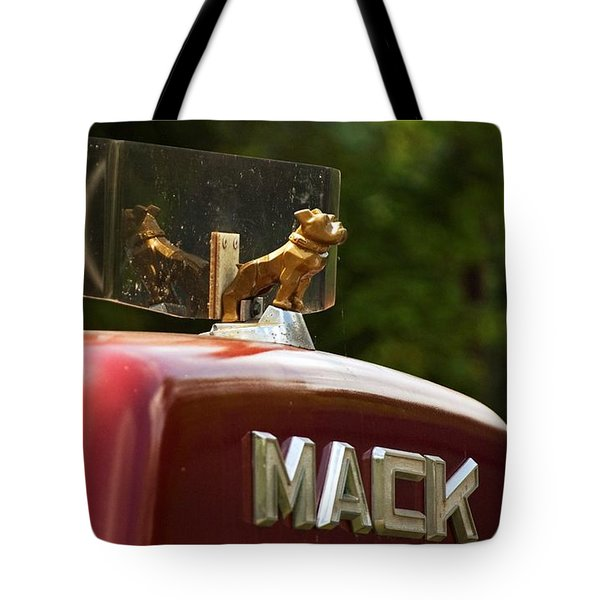 Dog On Truck  Tote Bag