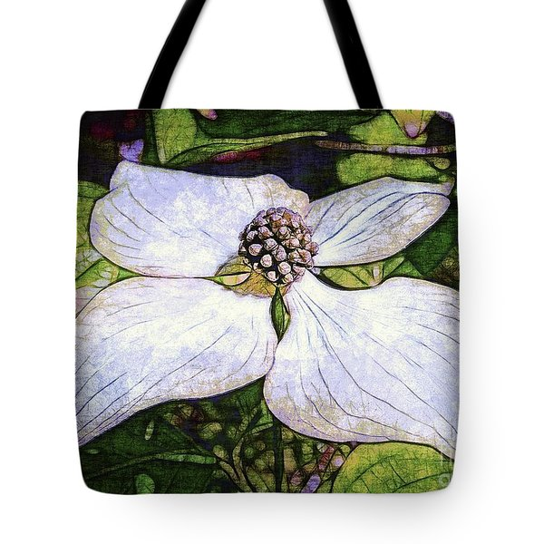 Dogwood Days Tote Bag by Judi Bagwell