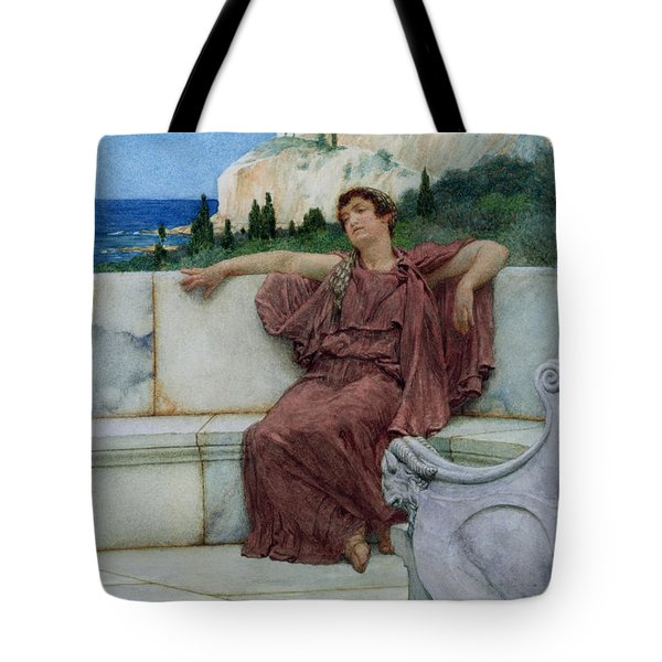 Dolce Far Niente Tote Bag by Sir Lawrence Alma-Tadema