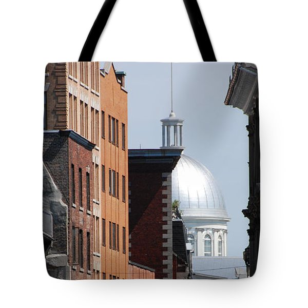 Tote Bag featuring the photograph Dome Bonsecours Market by John Schneider