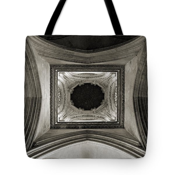 Dome In Saint Jean Church - Caen Tote Bag