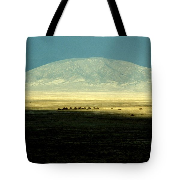 Tote Bag featuring the photograph Dome Mountain by Brent L Ander