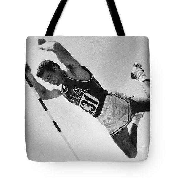 Donald Bragg (1935- ) Tote Bag by Granger