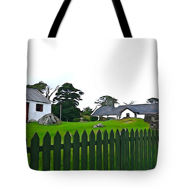 Tote Bag featuring the photograph Donegal Home by Charlie and Norma Brock