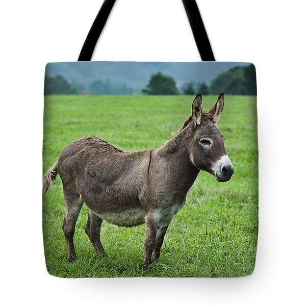Donkey Tote Bag by John Greim