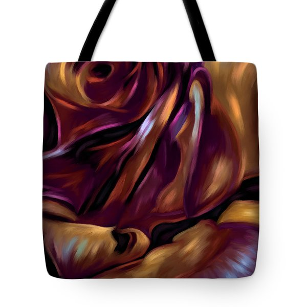 Donnybrook Rose Tote Bag by Michelle Wrighton