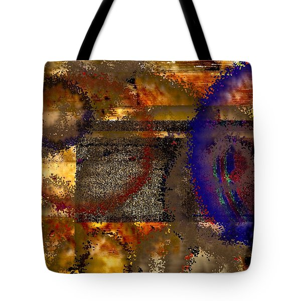 Don't Be A Square Tote Bag by Renate Nadi Wesley