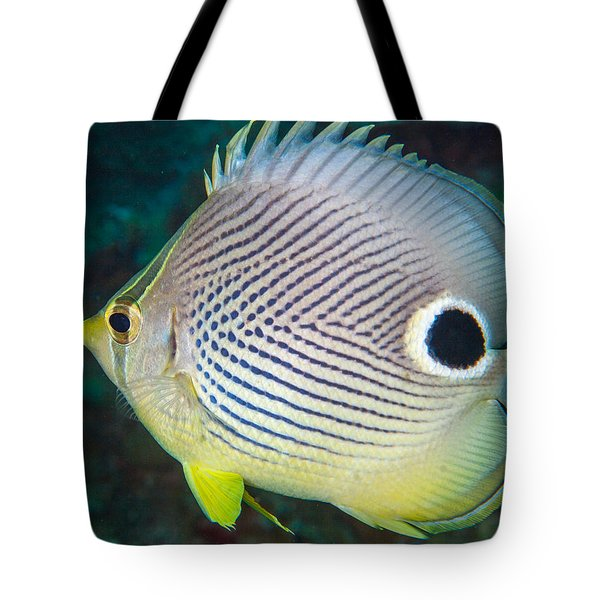 Dont Eyeball Me Tote Bag by Jean Noren