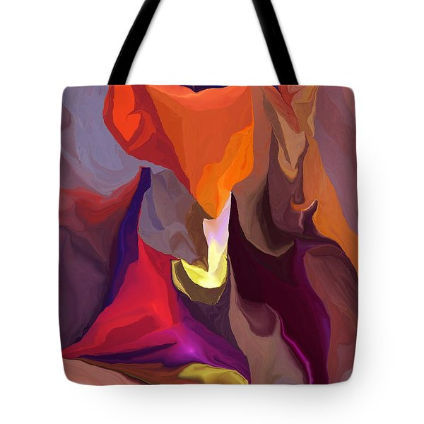 Don't Think About Elephants Tote Bag by David Lane