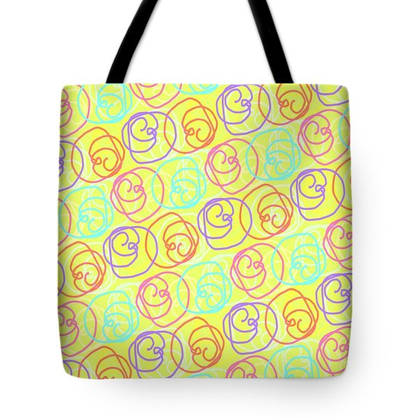 Doodles Tote Bag by Louisa Knight