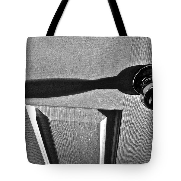 Tote Bag featuring the photograph Doorknob by Bill Owen