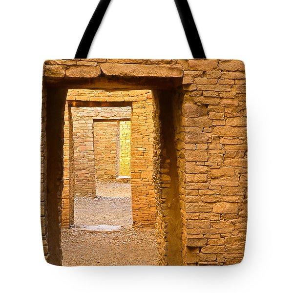 Doorway Chaco Canyon Tote Bag