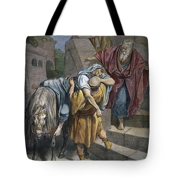 Dore: Good Samaritan Tote Bag by Granger