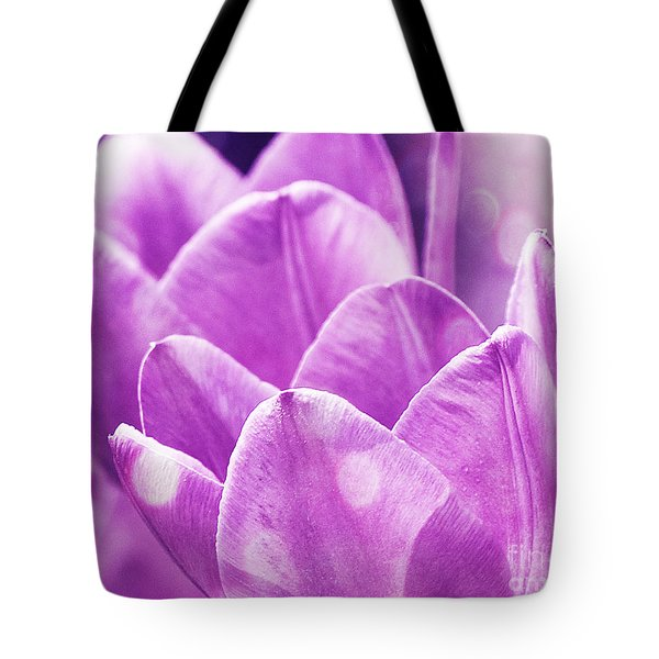 Tote Bag featuring the photograph Dots by Traci Cottingham