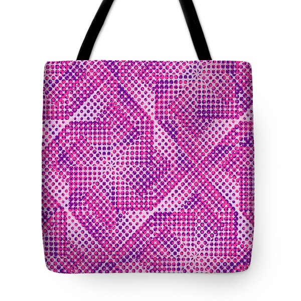 Dotty Tote Bag by Louisa Knight