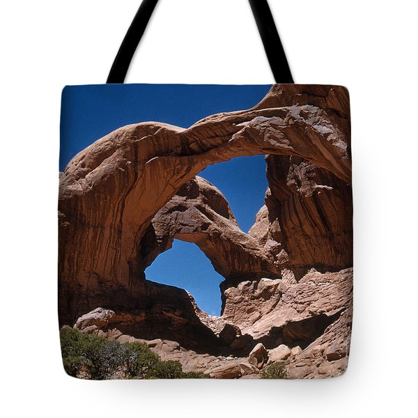 Double Arch Tote Bag by Photo Researchers