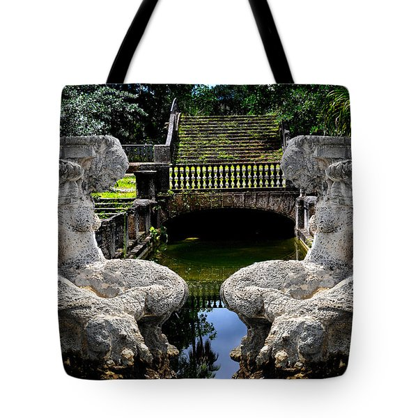 Tote Bag featuring the photograph Double Mermaids by Harry Spitz