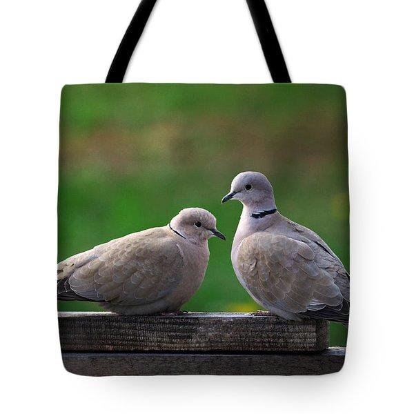 Doves Tote Bag