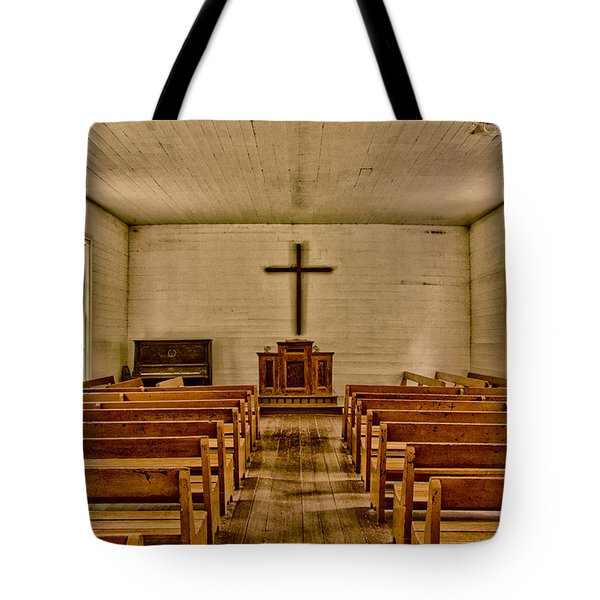 Down The Aisle Tote Bag