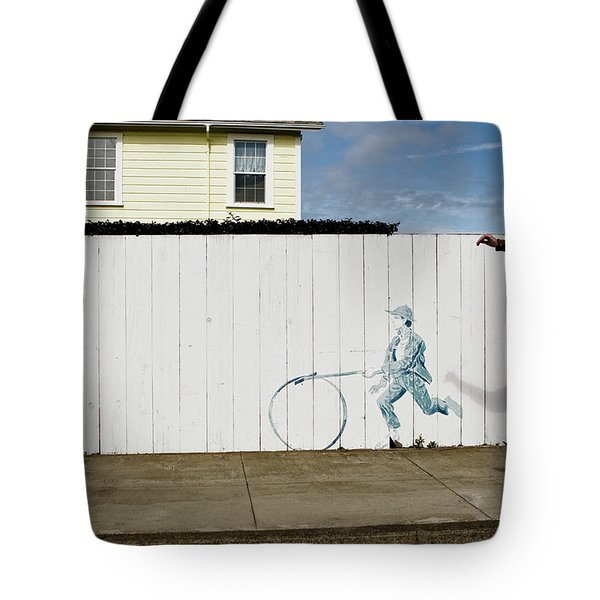 Tote Bag featuring the photograph Downhill Buddy by Lorraine Devon Wilke