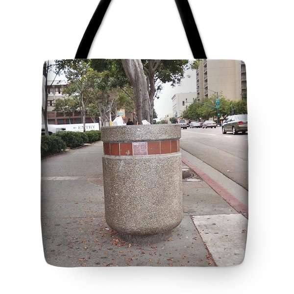 Tote Bag featuring the photograph Downtown San Diego by Lola Connelly
