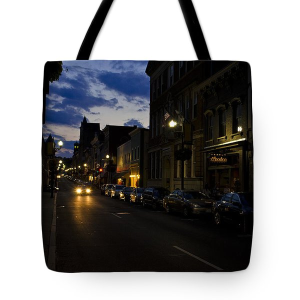 Downtown Staunton Virginia Zynodoa  Tote Bag