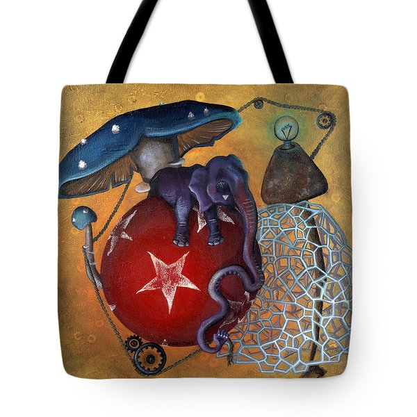 Dow's Newest Best Trick Tote Bag by Kelly Jade King