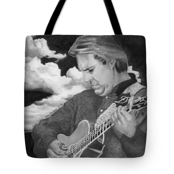 Tote Bag featuring the drawing Doyle Dykes by Ana Tirolese