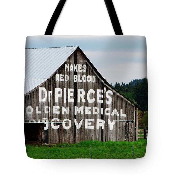 Dr. Pierce Barn 110514.98.1 Tote Bag