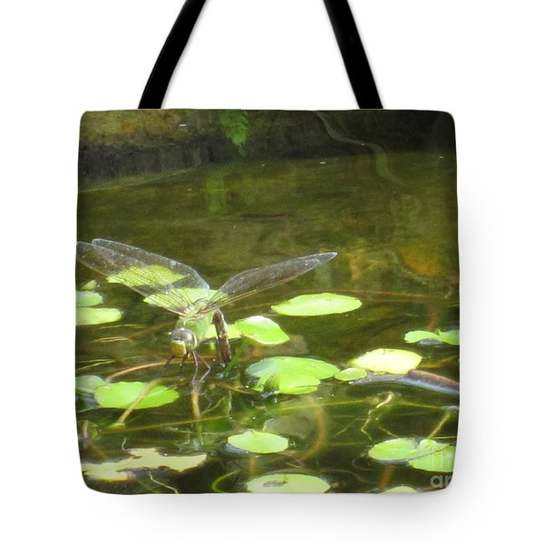 Dragonfly Tote Bag by Laurianna Taylor