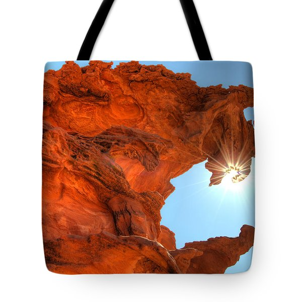 Dragons Breath Tote Bag by Bob Christopher