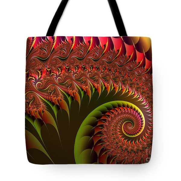 Dragon's Tail Tote Bag