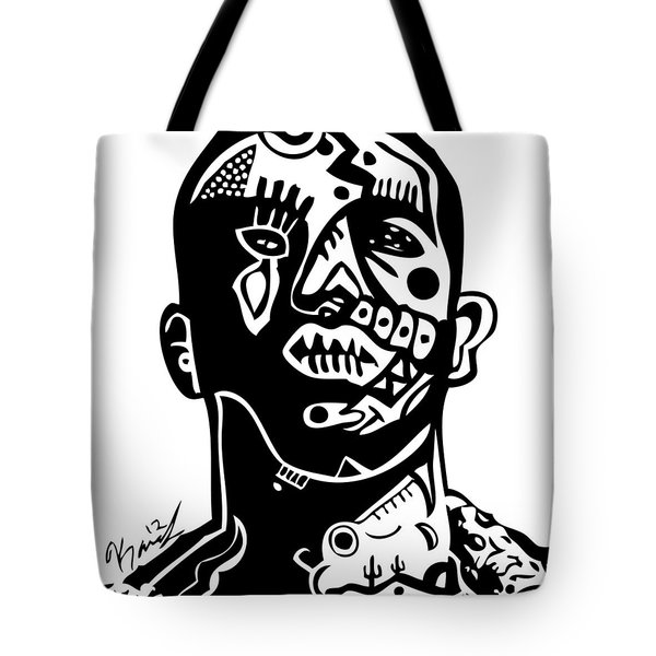 Drake Tote Bag by Kamoni Khem