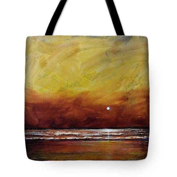 Drama Ocean Tote Bag by Toni Grote