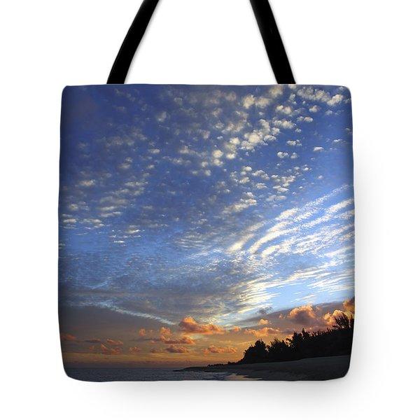 Dramatic Hawaiian Sky Tote Bag by Vince Cavataio
