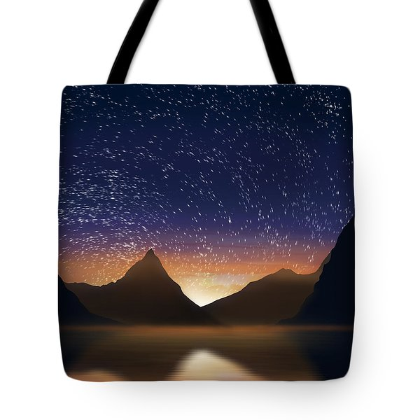 Dramatic Landscape  Tote Bag