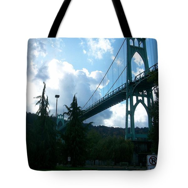 Dramatic St. Johns Tote Bag