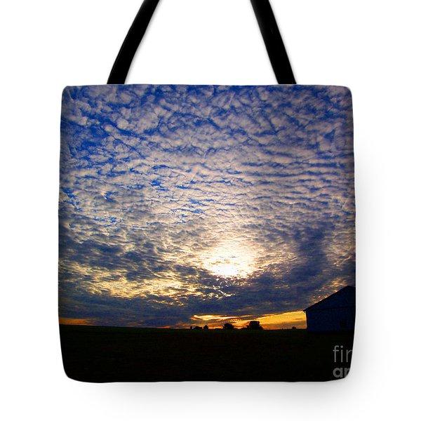 Dramatic Sunset Tote Bag