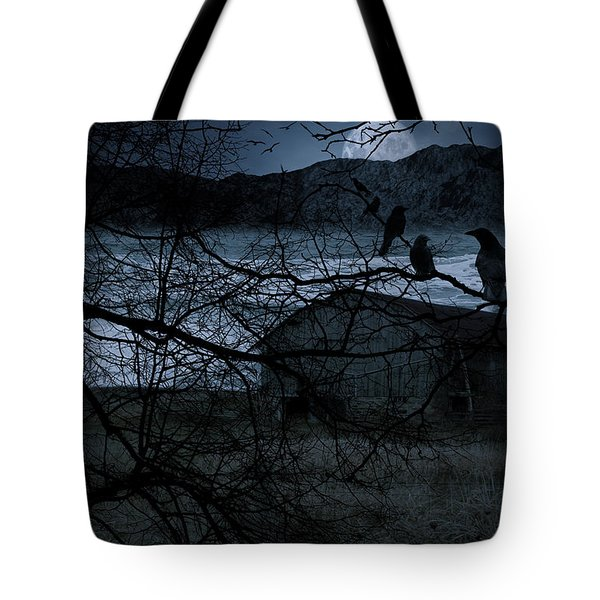 Dreadful Silence Tote Bag by Lourry Legarde