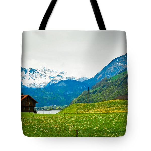 Dream Home Tote Bag by Syed Aqueel