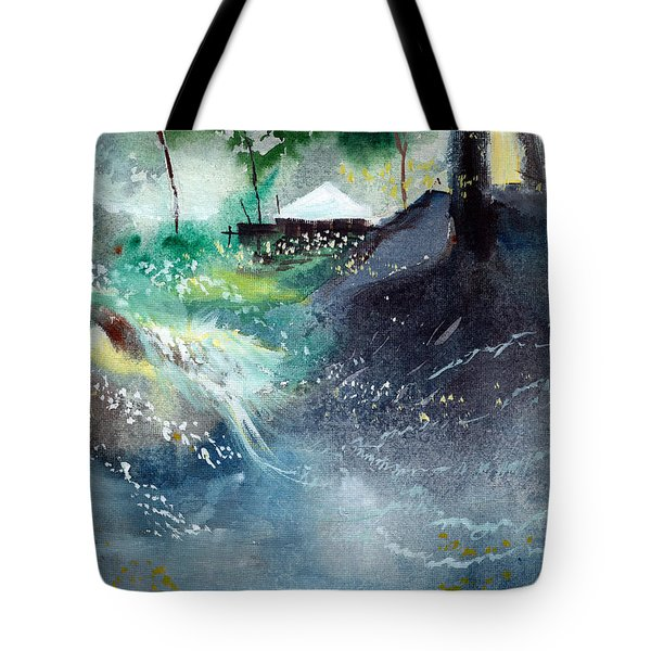 Dream House 2 Tote Bag by Anil Nene
