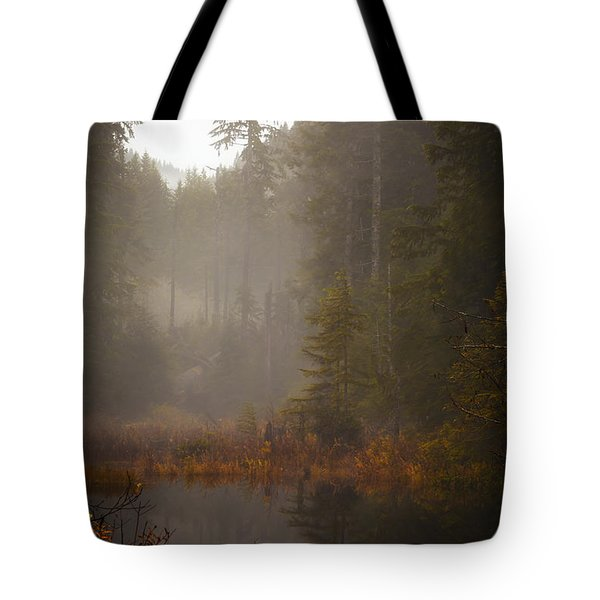 Dream Of Autumn Tote Bag by Mike Reid