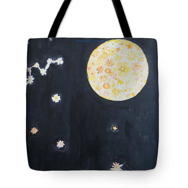 Tote Bag featuring the painting Dream by Sonali Gangane